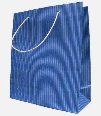 paper bag souvenir warna biru