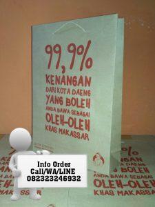 Paper Bag Toko Oleh Oleh Makassar